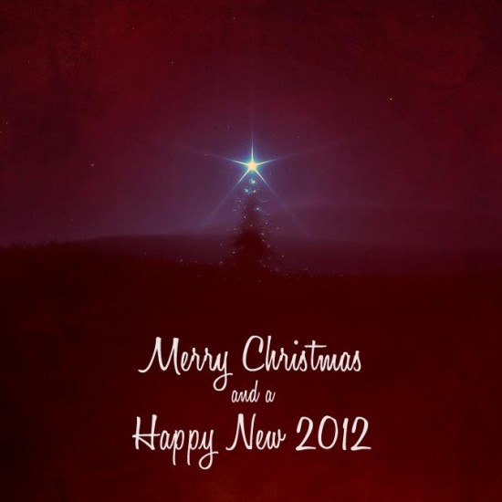 Merry Christmas and a Happy New 2012